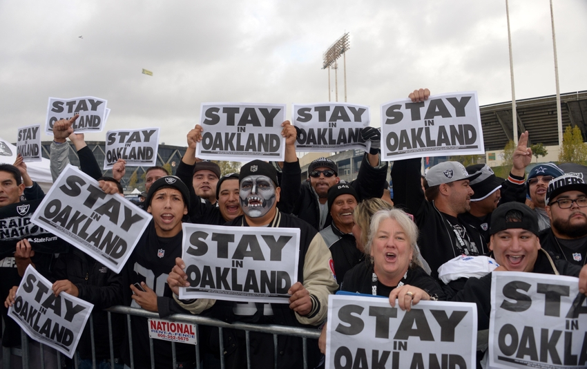 Oakland Raiders Nfl Won T Relocate To Los Angeles In 2015