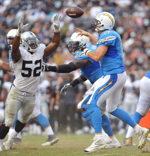 Game Details Oakland Raiders Vs San Diego Chargers