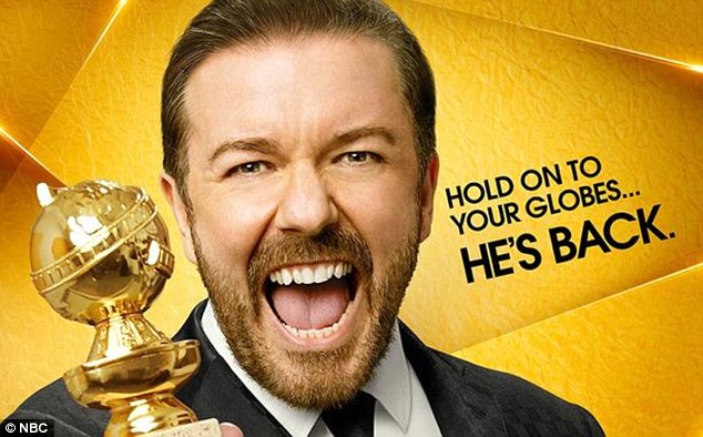 Ricky Gervais jokes about Caitlyn Jenner at Golden Globes