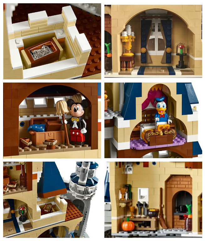 The Disney Castle Comes to Life in New LEGO Building Set