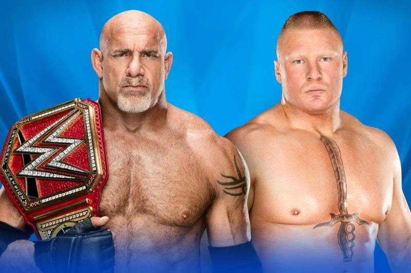 Goldberg Vs Brock Lesnar