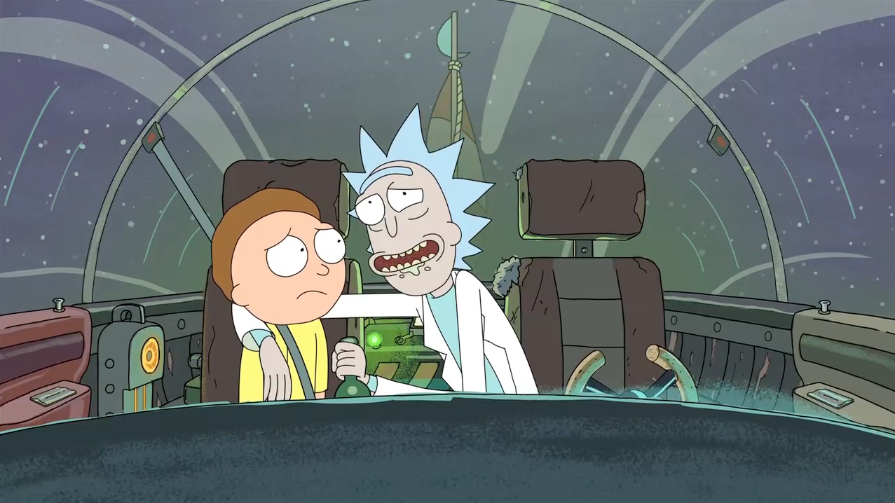 Rick and Morty VR Sets April 20th Release Date