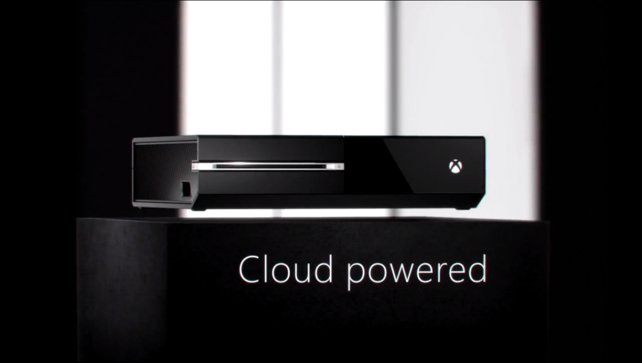 xbox one cloud powered