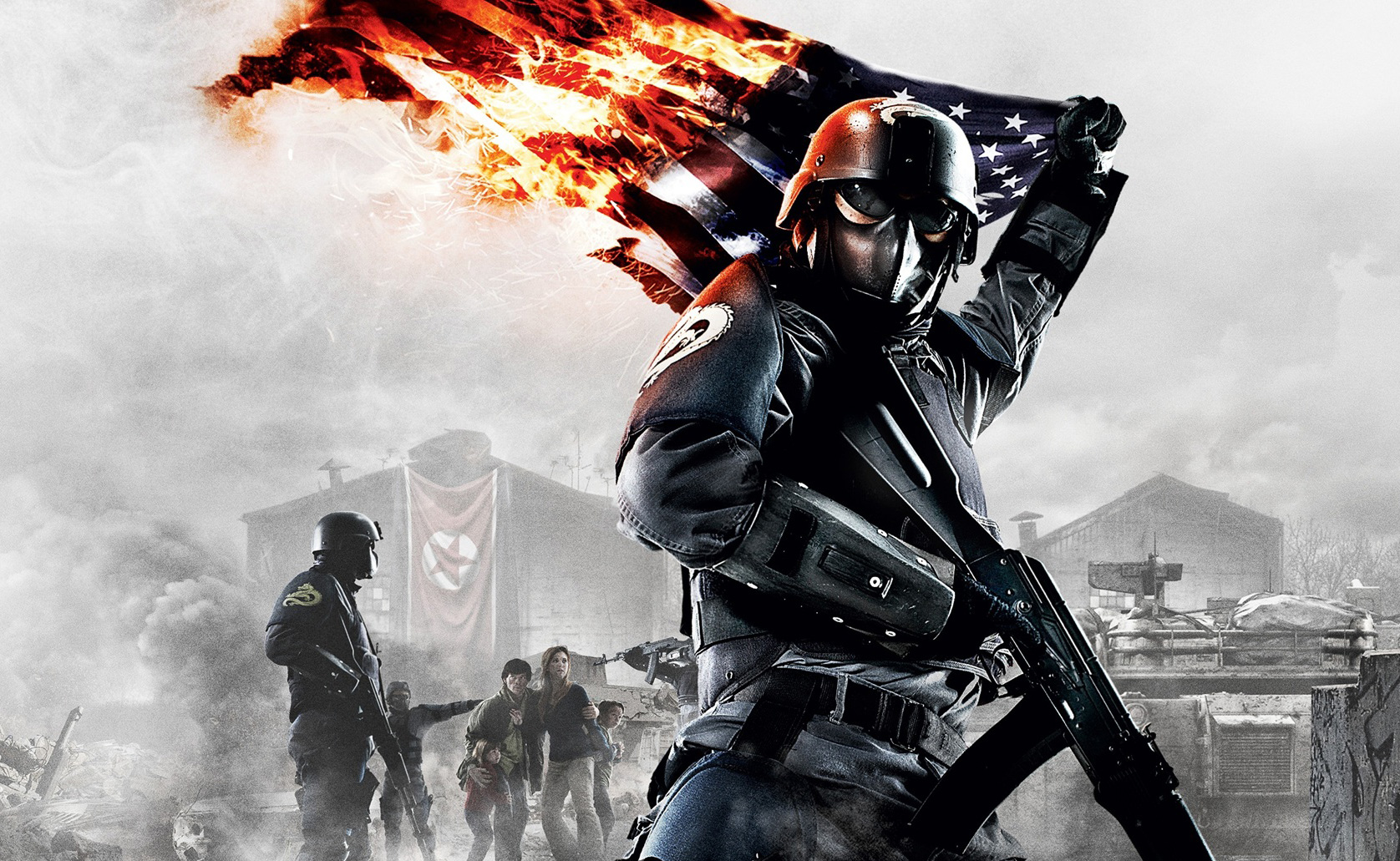 Video game leak homefront 2 footage posted for Homefront wallpaper