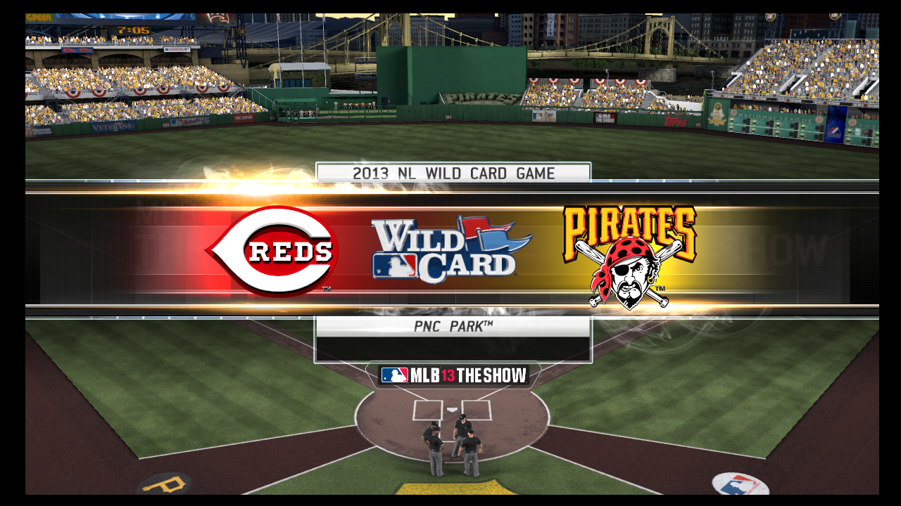 mlb 13 the show nl wildcard playoffs