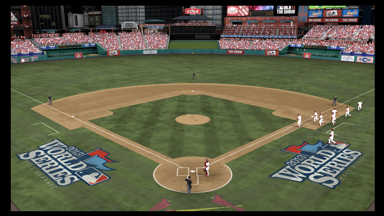 mlb 13 the show game 4 cardinals red sox