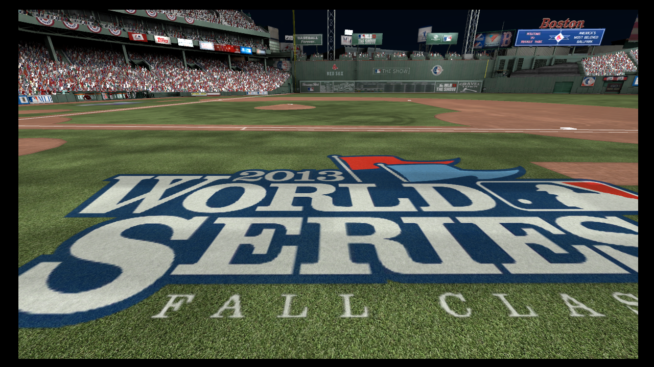 mlb 13 the show world series banner