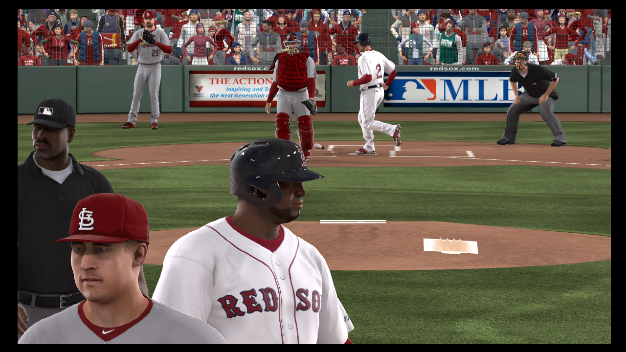 david ortiz RBI double mlb 13 the show