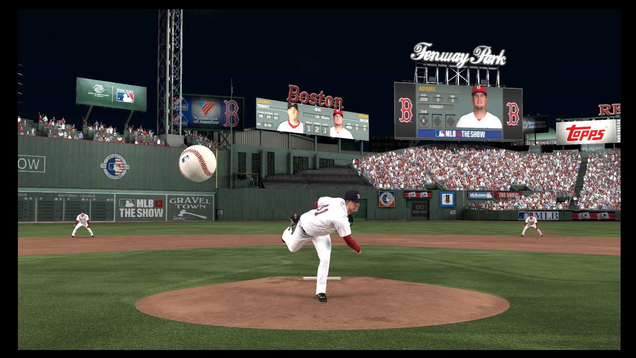john lackey pitch game 2 mlb 13 the show world series