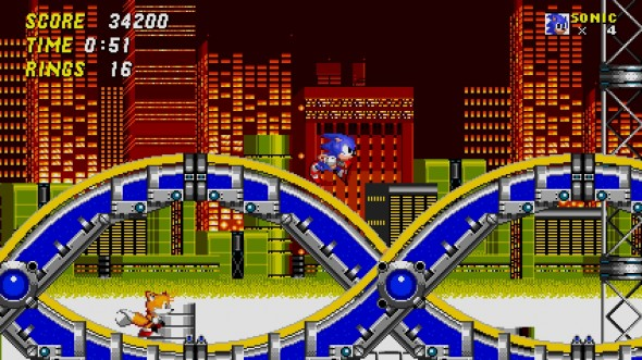 Sonic 2 - Mobile - Screen 02