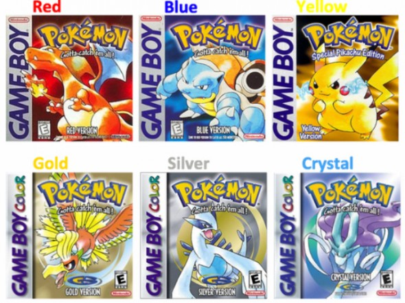 old school pokemon games