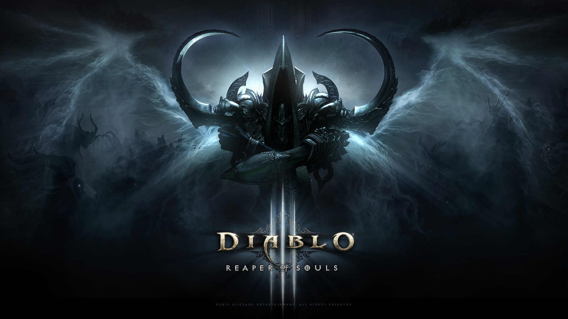 diablo 3 reaper of souls logo images pictures becuo