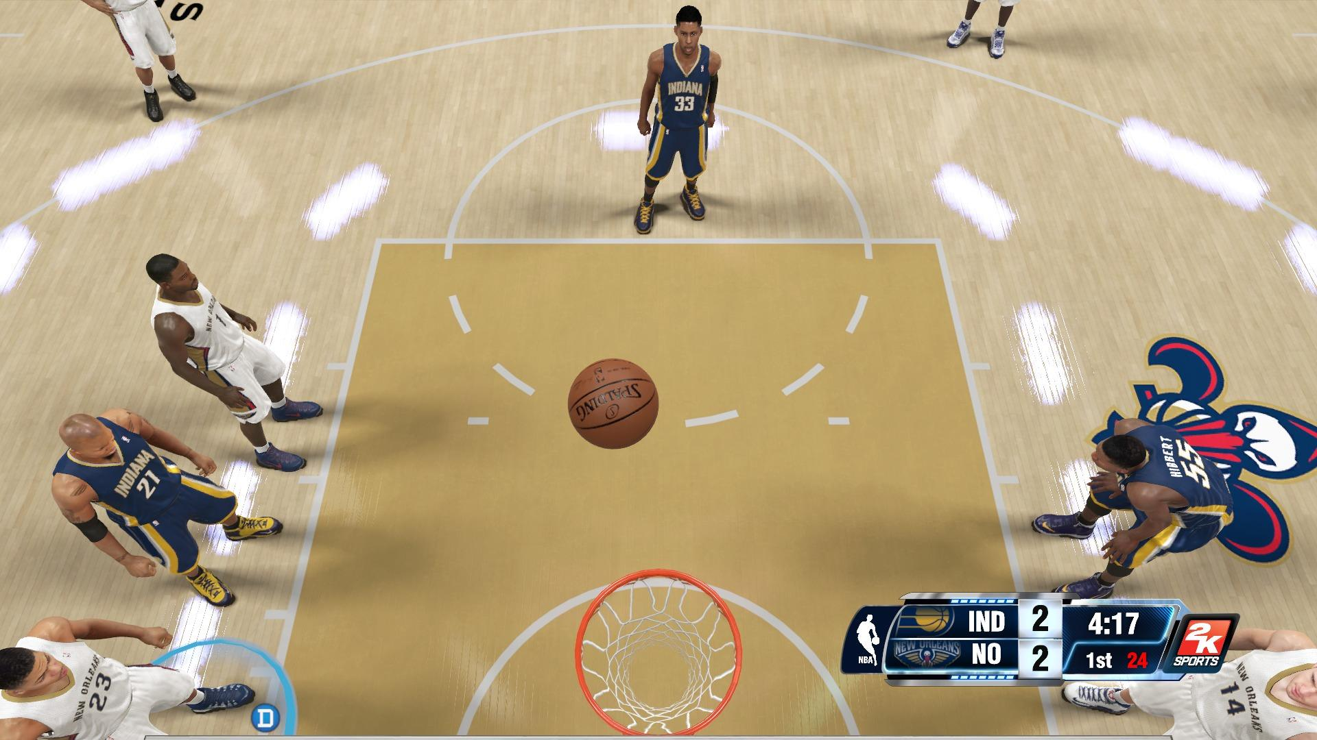 NBA 2k14 comes up just a bit short of being exceptional, just like Danny Granger's free throw,