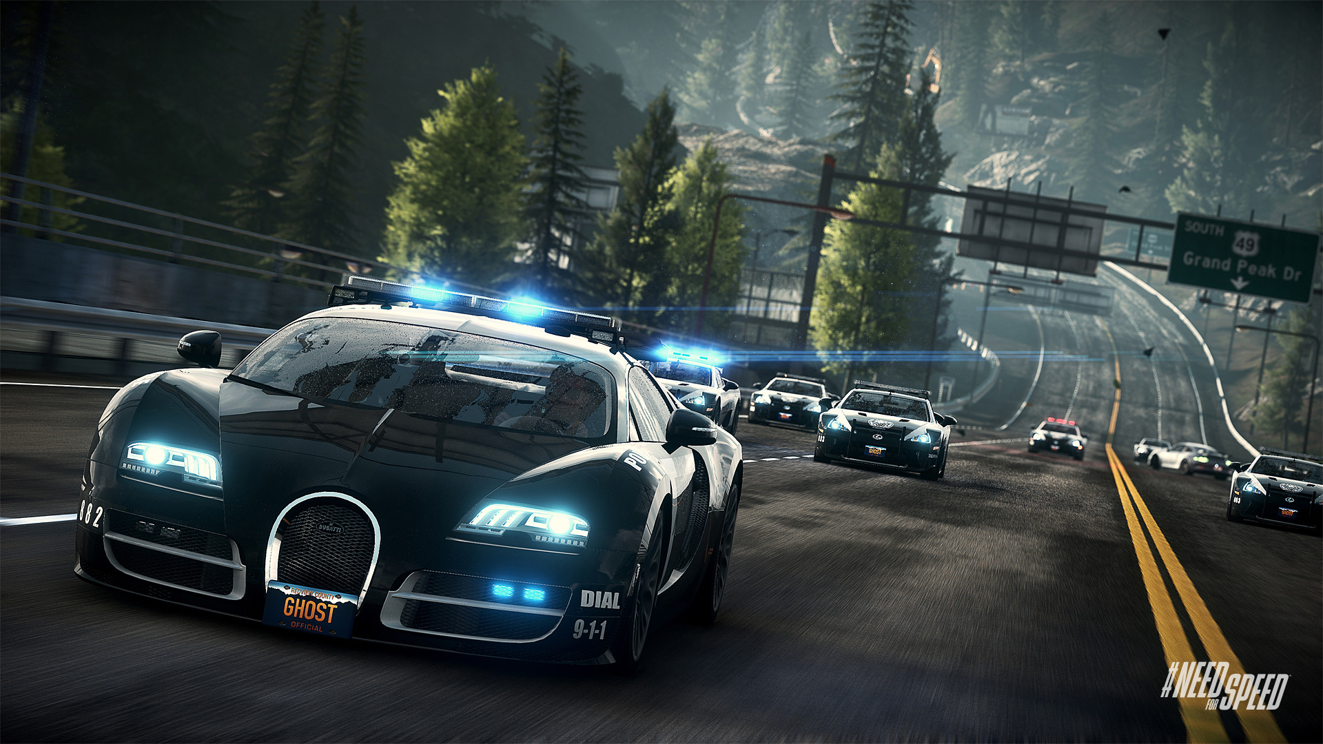 need for speed rivals gameplay on ps4 xbox one. Black Bedroom Furniture Sets. Home Design Ideas