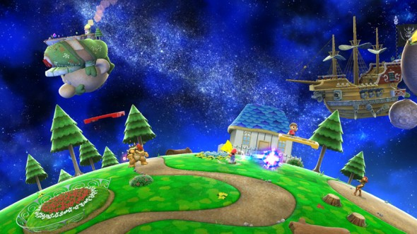 super smash wii u level