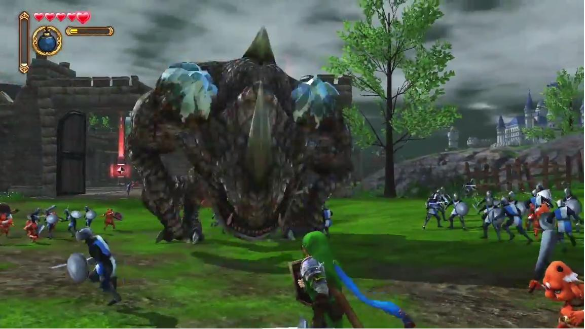 hyrule warriors screen