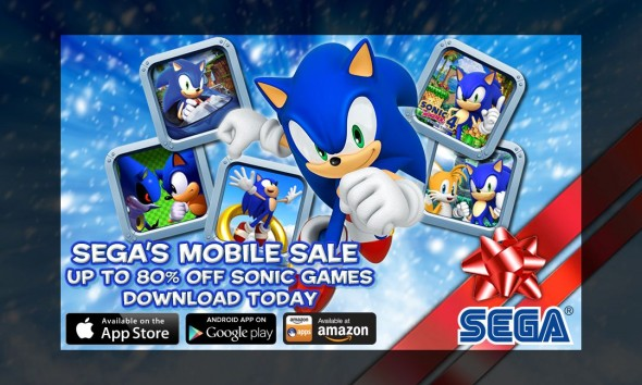 SEGA Holiday Sale