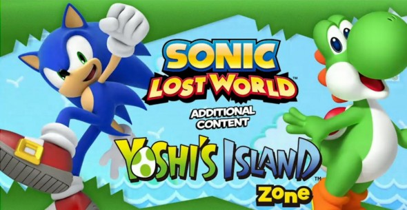 sonic lost world yoshi's island zone