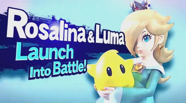 rosalina luma super smash bros