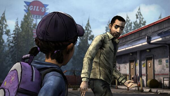 the walking dead season 2 omid clementine