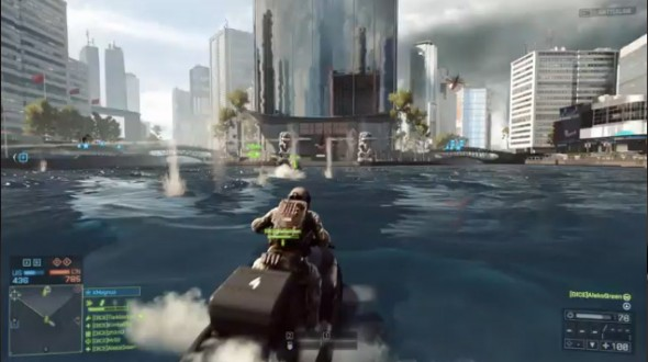 Many would love to ride a jetski, but the game doesn't work long enough to allow it.