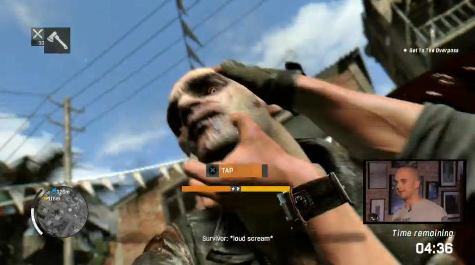dying light screen