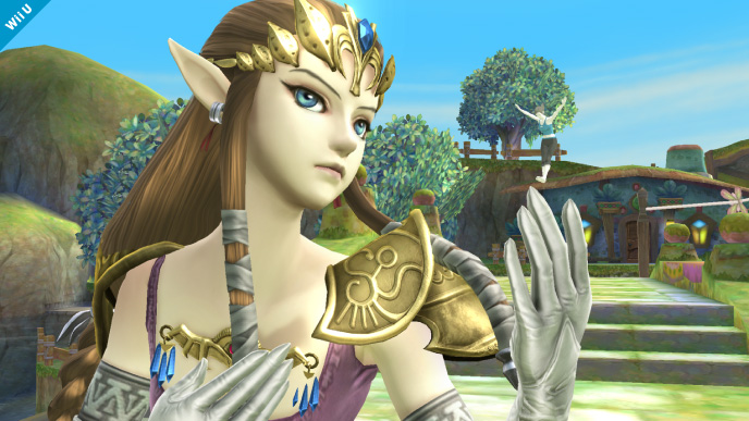 zelda smash bros wii u 3ds