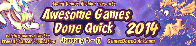 awesome games done quick 2014