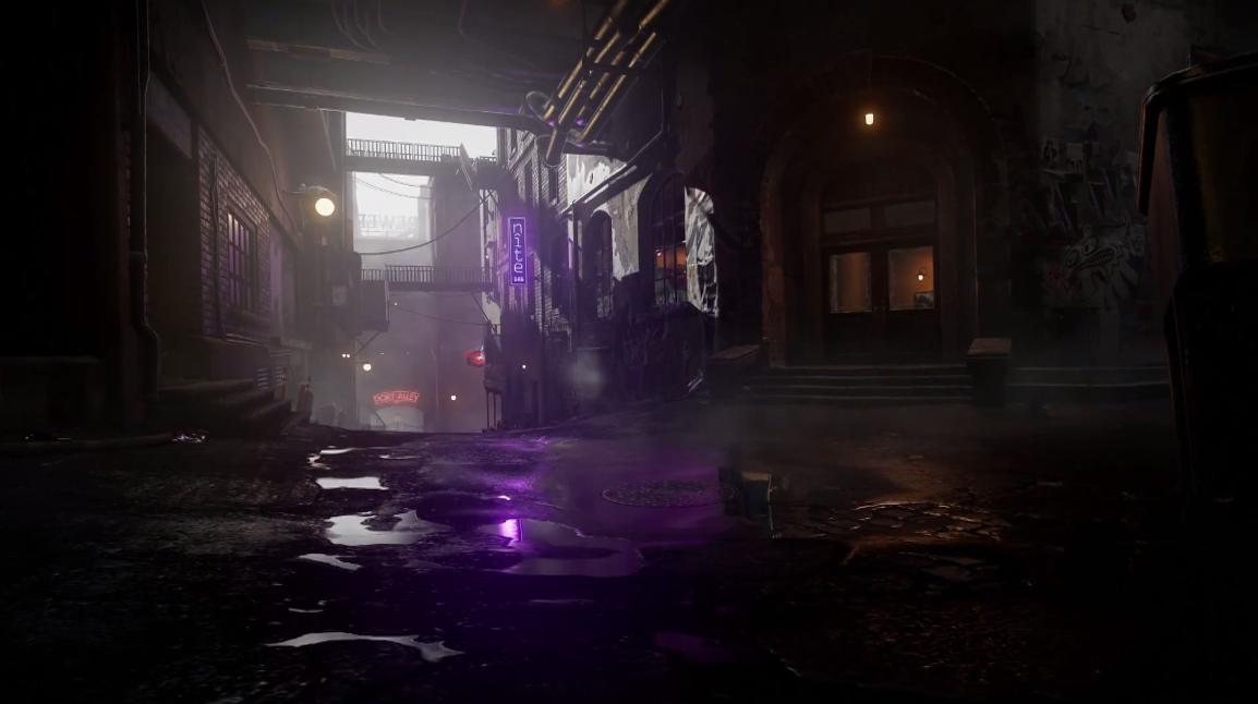 infamous second son alley