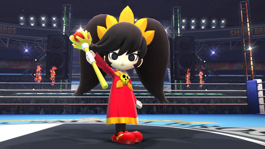 ashley super smash bros assist trophy