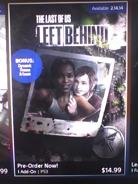 left behind dlc the last of us