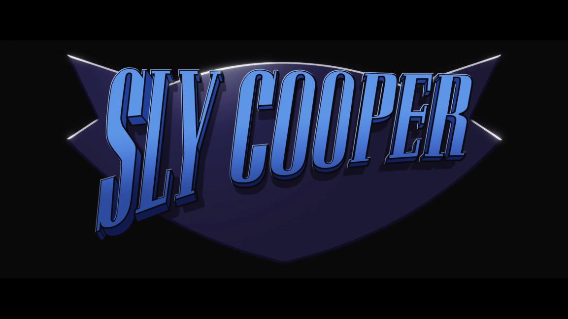 sly cooper movie logo