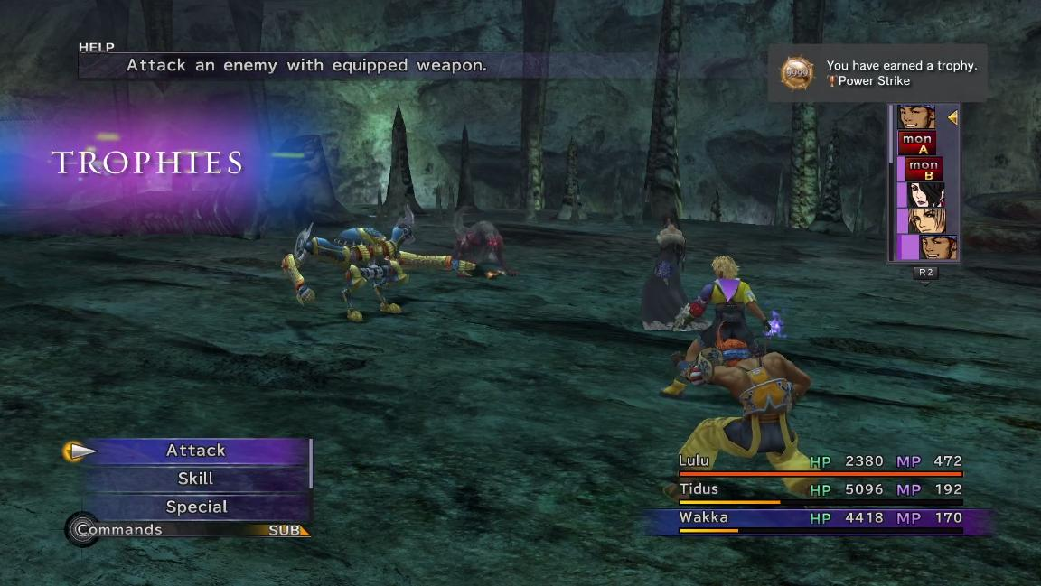 final fantasy x features