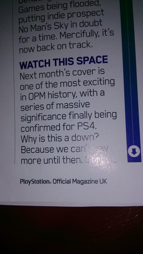 playstation official magazine ps4