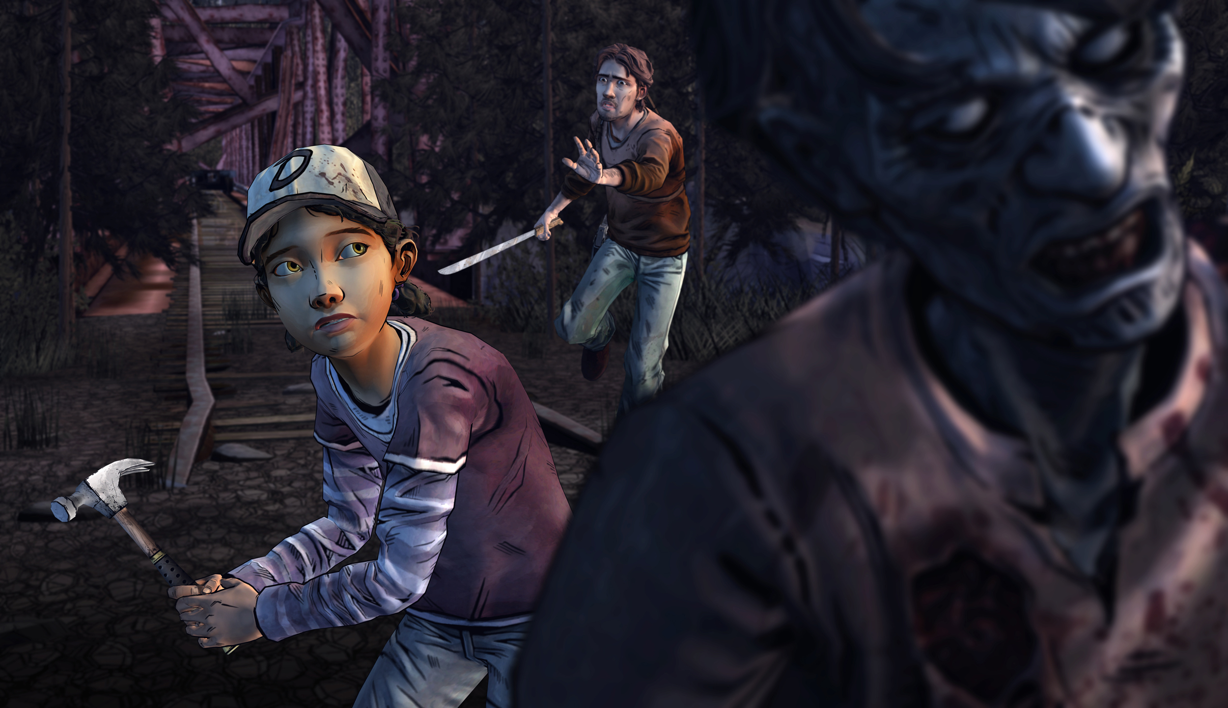 walking dead season 2 clementine