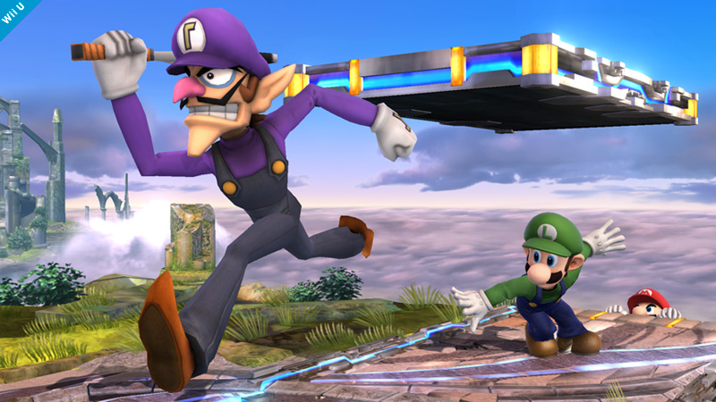 waluigi super smash bros assist trophy