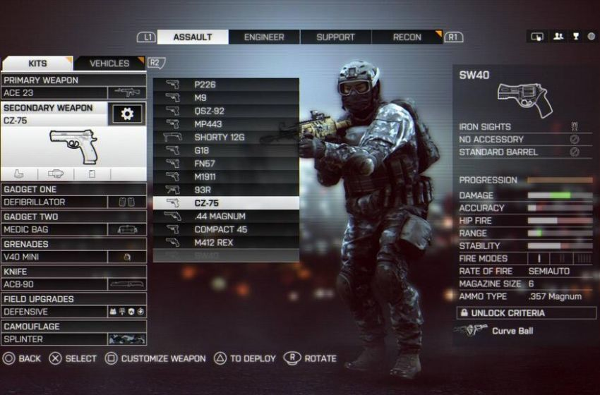 battlefield 4 assignment unlocks I am top rank on battlefield and had all guns unlocked  files, but the latest game  on the list was battlefield 4, which i haven't played in ages lol.