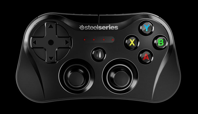 SteelSeries Stratus - front
