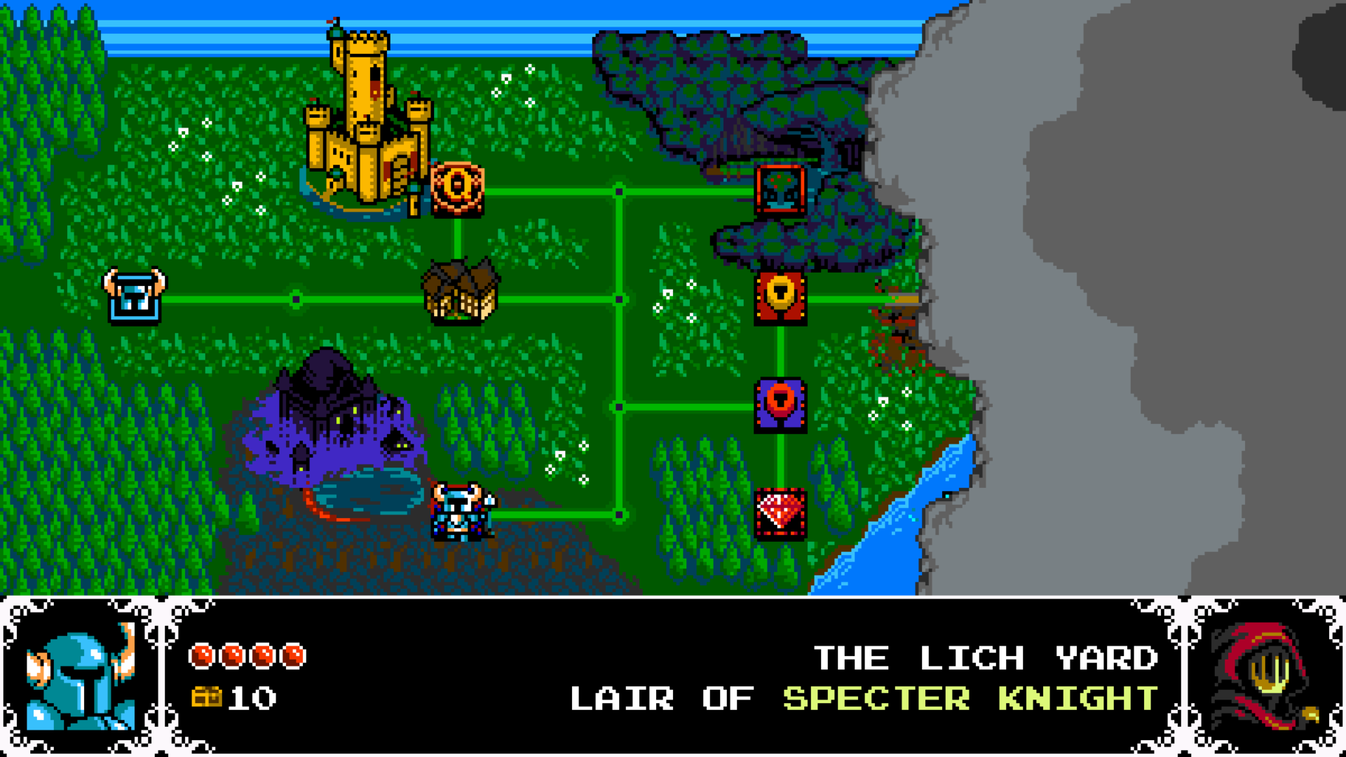 Shovel Knight - World Map