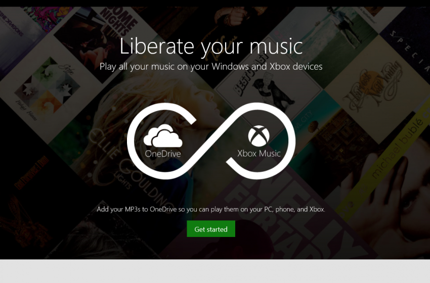 how to add music files to onedrive
