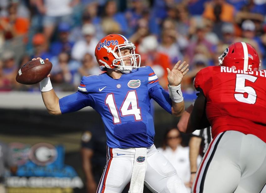 No. 21 Florida stops No. 16 LSU, 16-10, clinches SEC East