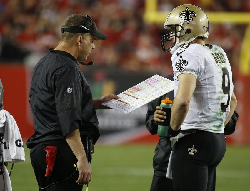 Bucs pick off Brees, Saints