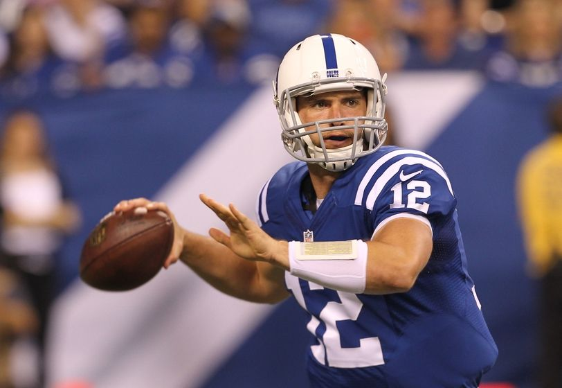 Andrew Luck Discusses His Performance, Reggie Wayne - Ink on Indy - A Indianapolis Sports Site ...