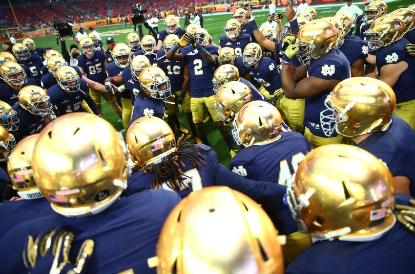 footba games what is the score of the notre dame football game