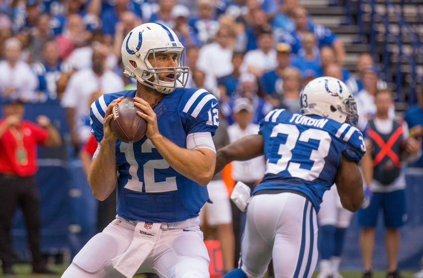 Indianapolis Colts: Luck's Big Day Not Enough as Lions Top ...