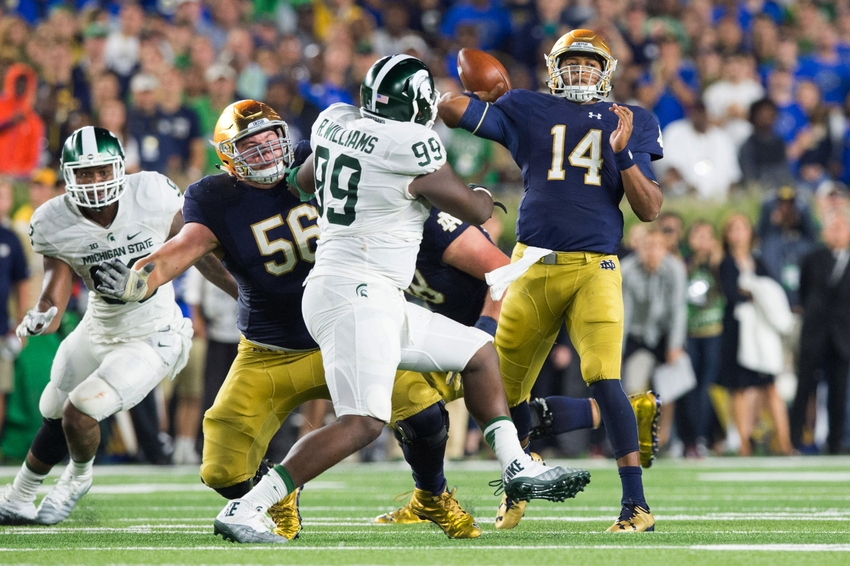 Notre Dame drops to 1-2 after falling to Michigan State