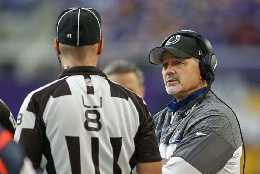 Colts coach Chuck Pagano to return next season