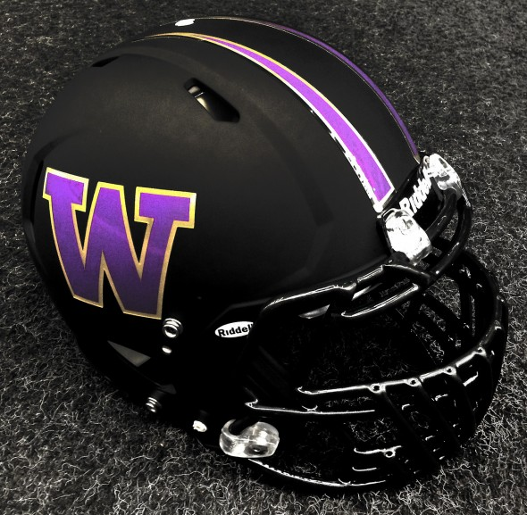 > Washington Huskies to Wear Matte Black and Pink Helmets vs Oregon Ducks (pic) - Photo posted in BX SportsCenter | Sign in and leave a comment below!