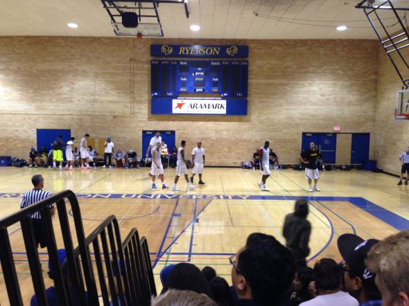 Tyler Ennis, Anthony Bennett, and Sim Bhullar take on Team Brampton