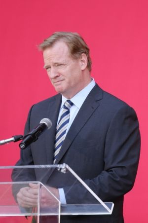 While the NFL in Toronto remains a hot topic surrounding the Buffalo Bills, NFL commissioner Roger Goodell has remained silent around the idea. Mandatory Credit: Kelley L Cox-USA TODAY Sports